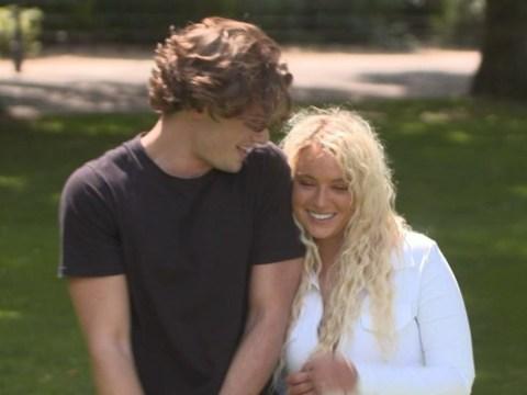 Love Island's Lucie Donlan rules out Joe Garratt romance despite secret kiss at ITV party