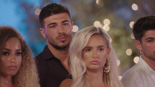 Love Island's Molly-Mae and Tommy Fury