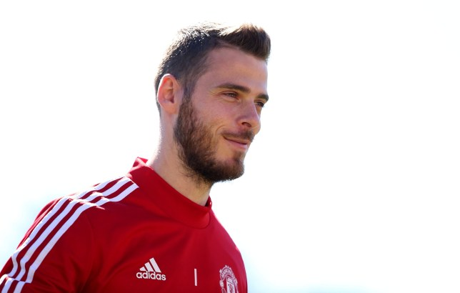 David De Gea is absent as Manchester United take on Leeds United