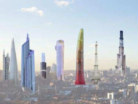 How London would look if rejected skyscrapers were given green light