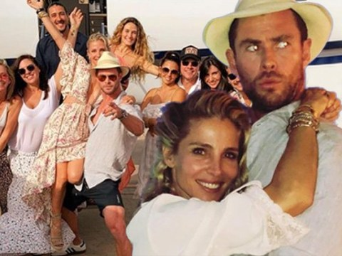 Chris Hemsworth lives a better life than you as he celebrates Elsa Pataky's birthday on private jet
