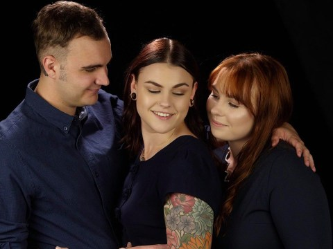 Polyamorous married couple get engaged to woman they met on Tinder