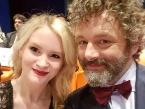 Michael Sheen announces he's expecting baby with girlfriend Anna Lundberg