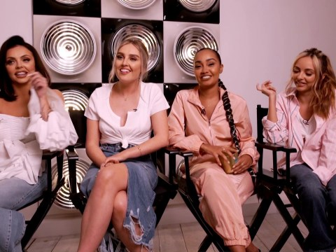 Little Mix believe they looked 'cheap and tacky' on X Factor but felt 'more secure' wearing makeup