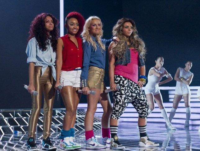 A still of Little Mix on The X Factor