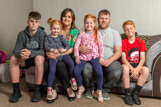 Katie and Darren McDermott were fined hundreds by their sons' school for a post-cancer recovery holiday