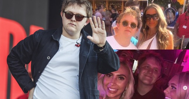 Lewis Capaldi mobbed by girls at pool party after claiming he can't pull