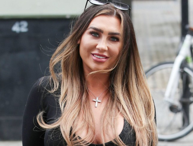 Lauren Goodger on Celebs Go Dating