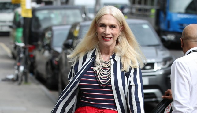 Lady Colin Campbell who is on Celebs Go Dating