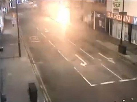 Arsonist who set himself alight in fish and chip shop jailed