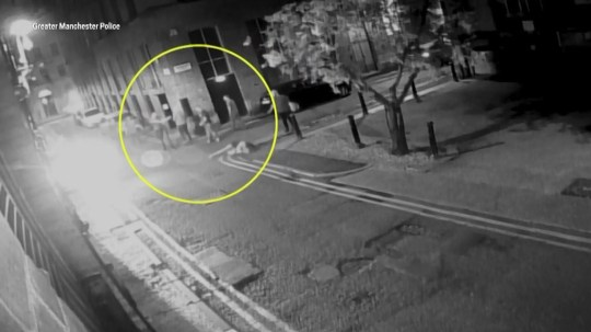 Shocking footage released of moment teenage girl knocked unconscious picture: GMP METROGRAB