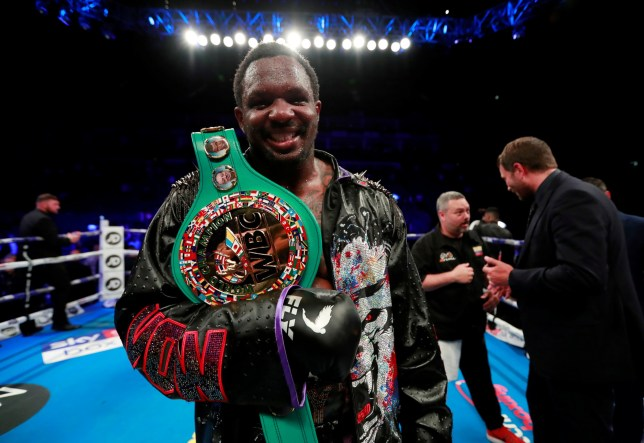 Dillian Whyte failed a drug test before his fight with Oscar Rivas