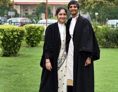 Two women who fought against LGBT laws in India just came out as a couple