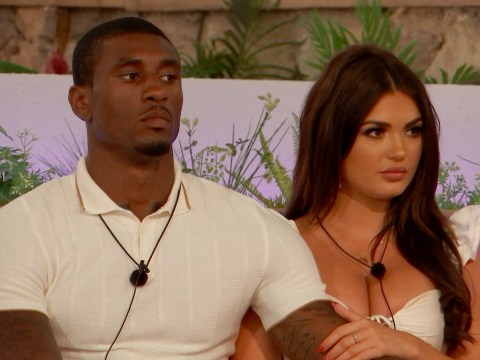 Love Island's Ovie Soko questions India Reynold's intentions after brutal challenge calls her a gold digger