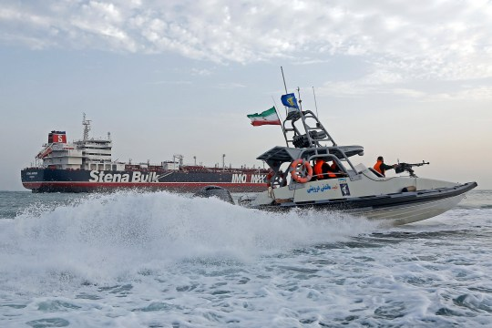 Iranian flag hoisted over seized British tanker | Metro News