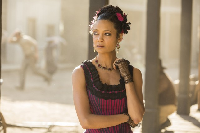 Editorial use only. No book cover usage. Mandatory Credit: Photo by Bad Robot/Kobal/REX (7749141h) Thandie Newton 'Westworld' TV Series Season 1 - 2016