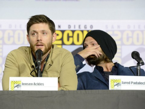 Jared Padalecki and Jensen Ackles crying during Supernatural's final Comic Con panel is heartbreaking