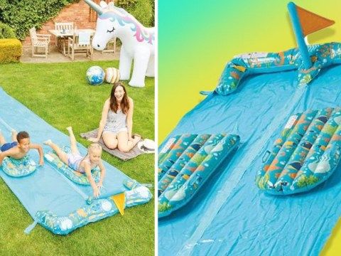 Aldi launches new bargain outdoor water slide for £12.99