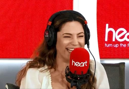 Heart Kelly Brook wet herself in work