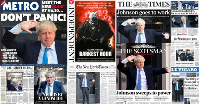 How the world reacted to Boris Johnson being chosen as next Prime Minister