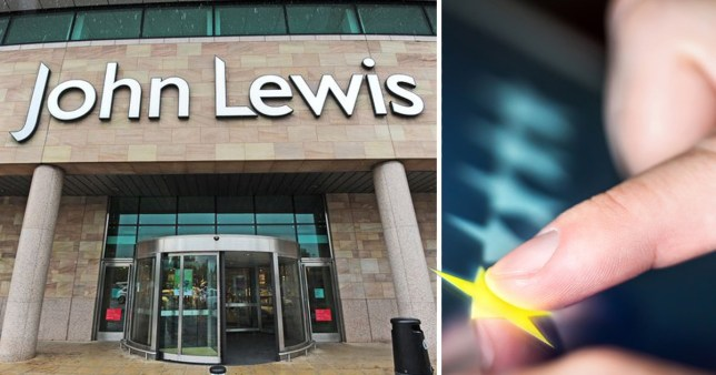 An unhappy shopper in an upmarket town left a one-star review for posh department store John Lewis - because a shop assistant used the word ???QUID???. Donna Hewer visited her local branch of the high-end retail store but was left ???disappointed??? by her experience after chatting to one member of staff. She took to Google Reviews to share her dissatisfaction - calling out the staff member on the language they used when quoting a price. Sadly for Donna she also wrote that is was ???unexceptable??? instead of ???unacceptable???. Donna, from Cheltenham, Glos., wrote: ???I am very disappointed at how the shop assistants spoke to me today.