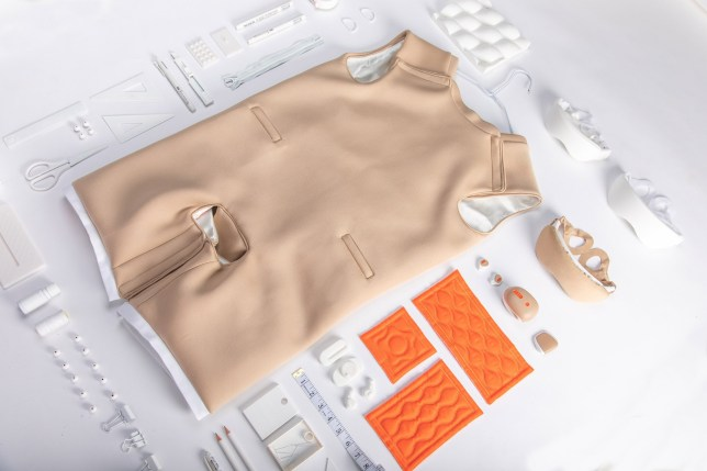 Masturbation suit for people with disabilities - Ripple