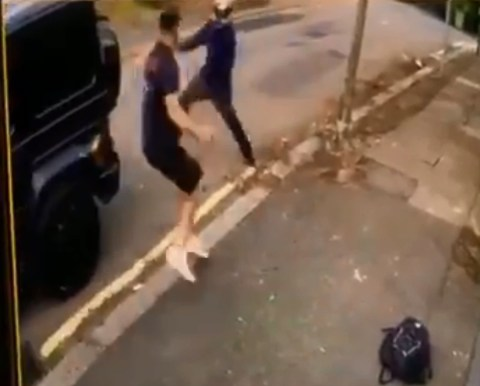 Mesut Ozil ambushed by knife wielding scooter gang in London