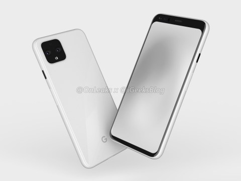 Google Pixel 4 leak shows a design almost identical to the iPhone 11