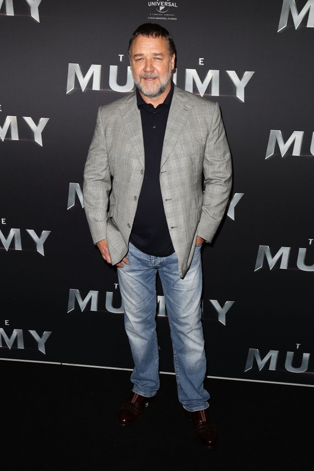 SYDNEY, AUSTRALIA - MAY 22: Russell Crowe arrives ahead of The Mummy Australian Premiere at State Theatre on May 22, 2017 in Sydney, Australia. (Photo by Brendon Thorne/Getty Images)
