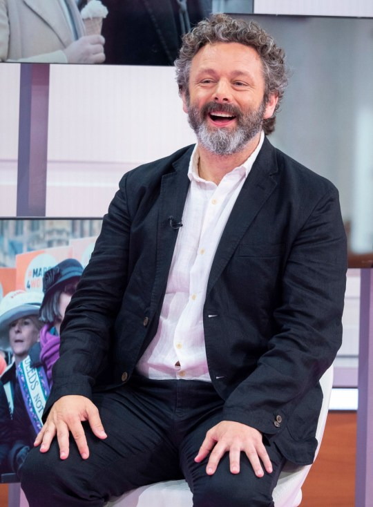 Editorial use only Mandatory Credit: Photo by Ken McKay/ITV/REX (10347638by) Michael Sheen 'Good Morning Britain' TV show, London, UK - 26 Jul 2019