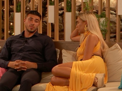 Love Island's Molly-Mae Hague freaks out as Islanders reunite with families ahead of dumping