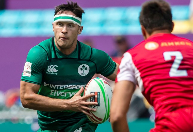 love island winner greg o'shea playing rugby for ireland