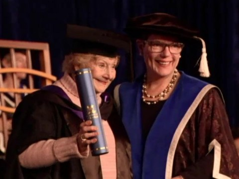 90-year-old woman graduates and proves it's never too late to study