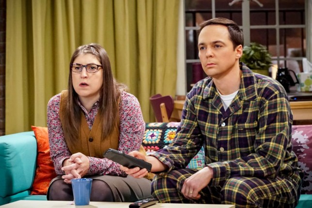 The Big Bang Theory's Sheldon and Amy