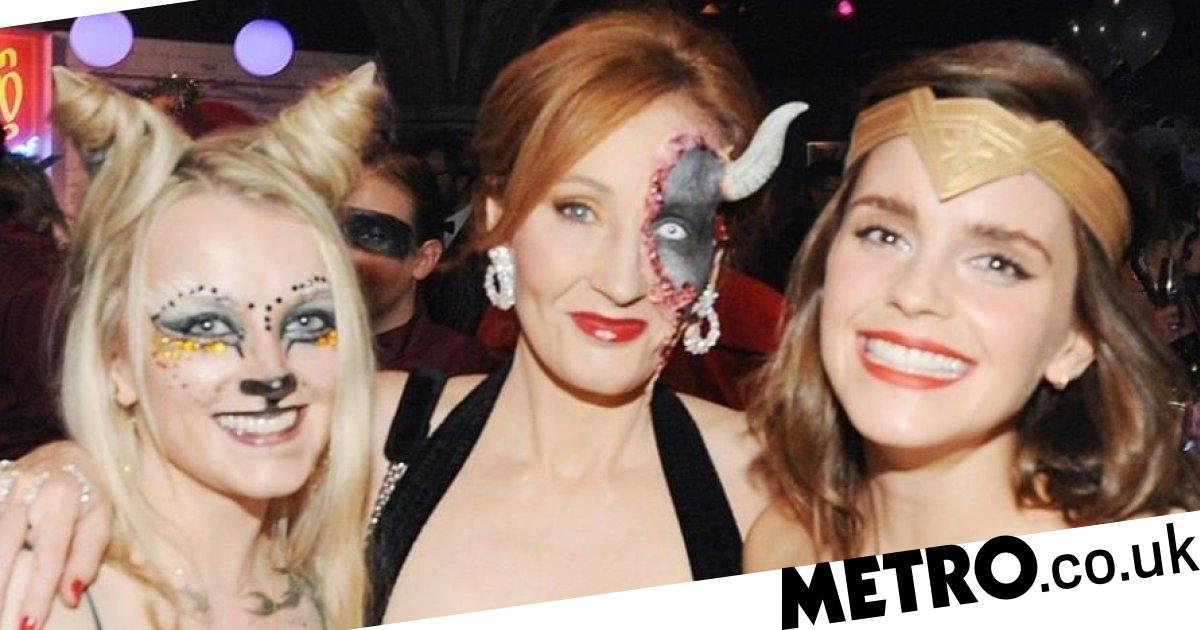 Emma Watson & J.K. Rowling Pic: Celebrates Harry Potter