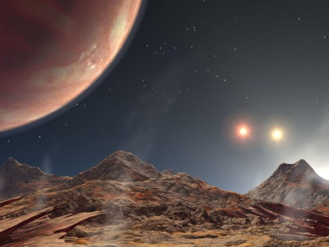 Nasa found a distant alien planet with three suns