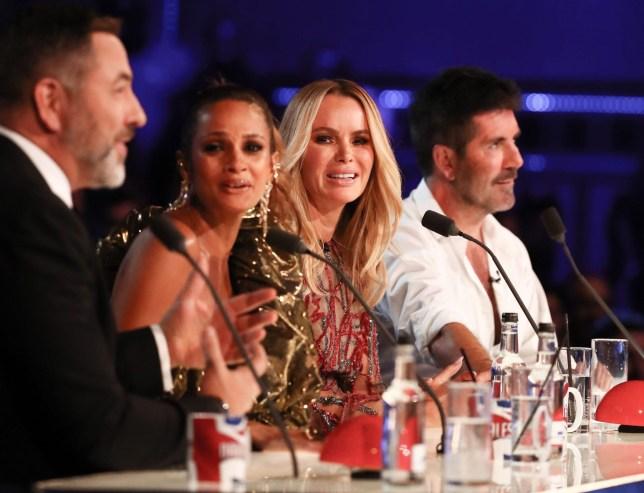 Britains Got Talent judging panel - David Walliams Alesha Dixon, Amanda Holden and Simon Cowell