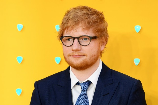Ed Sheeran attends the UK Premiere of Yesterday