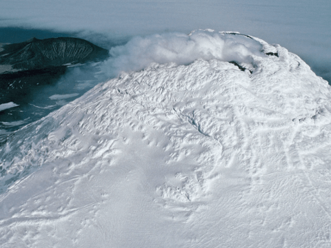 Huge, rare and mysterious lava lake found in the Antarctic by British team
