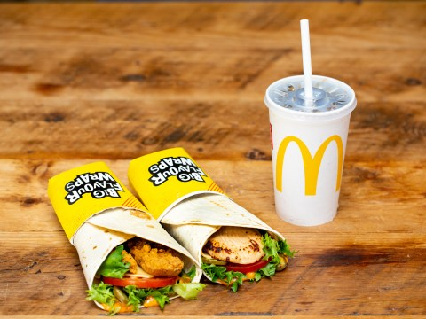 McDonald's is offering 50% off the new hot Cajun chicken wrap this week