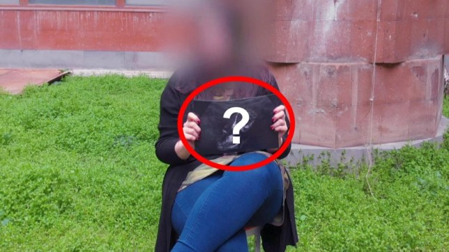 A 'time traveller' has claimed be carrying an alien-human hybrid baby (ApexTV)