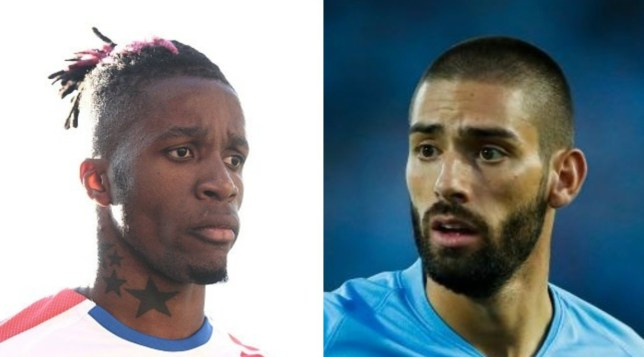Wilfried Zaha and Yannick Carrasco are both on Arsenal's radar