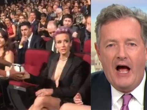 United States World Cup star Megan Rapinoe called 'an arrogant piece of work' by Piers Morgan over autograph video