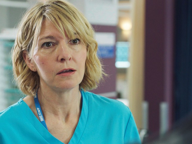 Bernie in Holby City