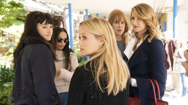 Reese Witherspoon, Nicole Kidman, Laura Dern, Shailene Woodley in Big Little Lies