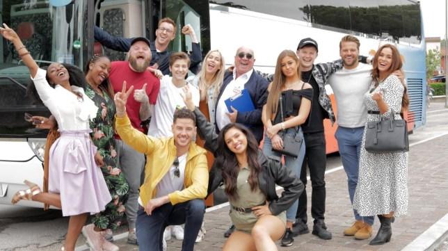 Celebrity Coach Trip line up