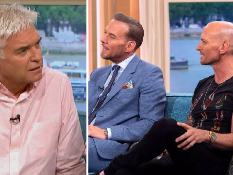 Phillip Schofield reveals Bros brothers Matt and Luke Goss almost got him arrested