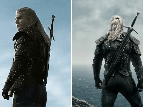 Henry Cavill is unrecognisable in first look for Netflix's The Witcher