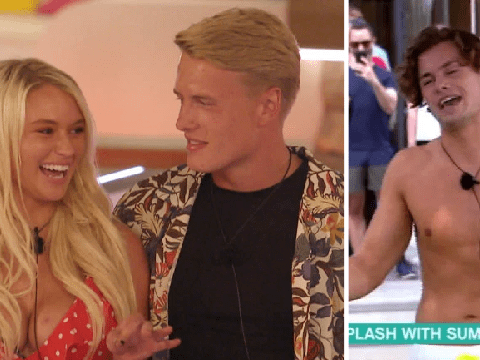 Love Island's Joe Garrett is 'gutted' that Lucie Donlan recoupled with new boy George Rains