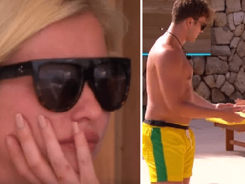 Love Island's Curtis teaches Maura how to dance – right in front of ex Amy